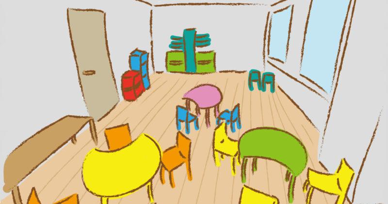 保育園の室内のイメージ