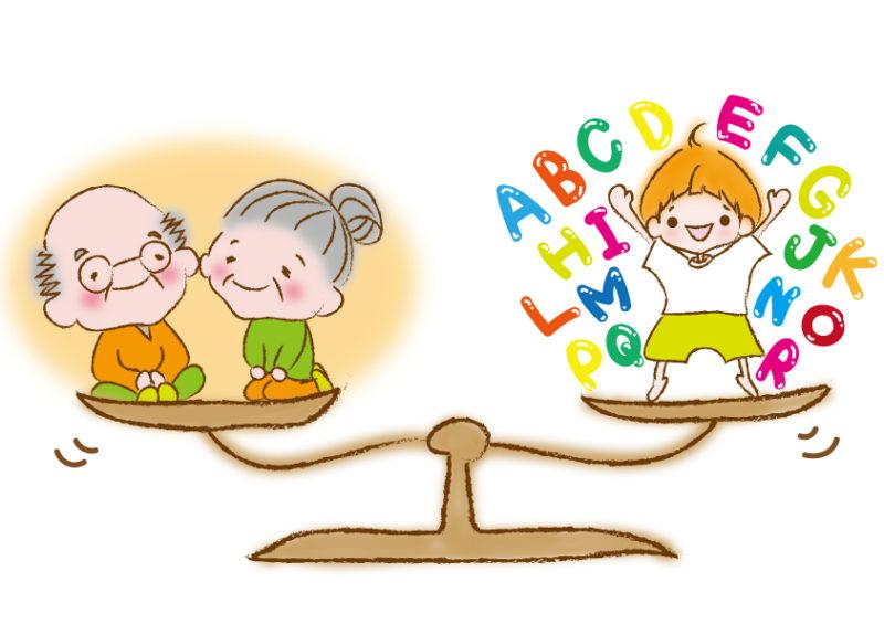 パパとママの老後とミルの英語体験の天秤
